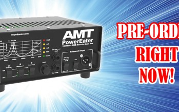 Hot PRE-ORDER for the new device: AMT Power Eater PE-120 Load Box!