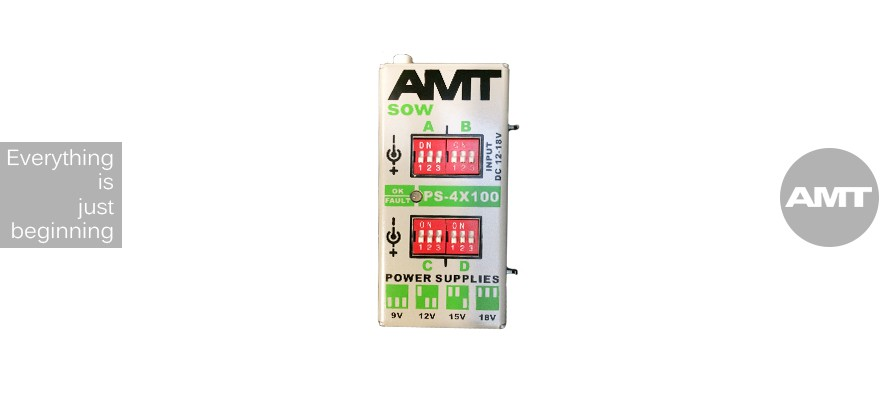 AMT SOW PS-4x100mA