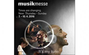 MusikMesse 2016: Hall 11.0 Stand №D51