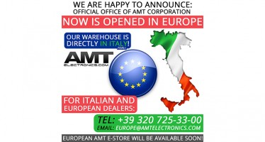 AMT Corporation SRL now is opened in Europe!