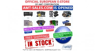 Official European E-store of AMT Corporation SRL amt-sales.com is opened!