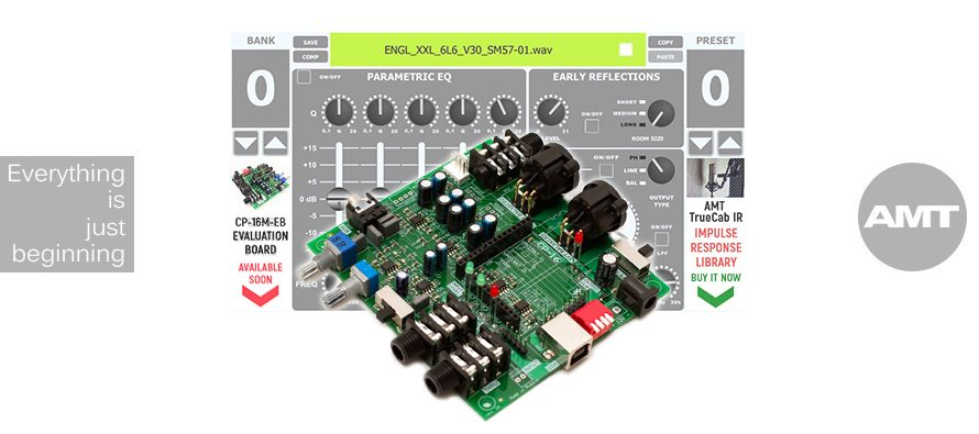#2017: AMT PANGAEA CP-16M-EB (EVALUATION BOARD)