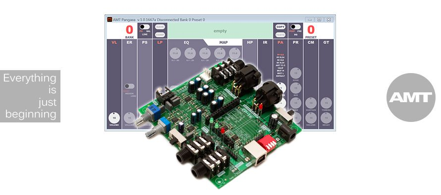 AMT PANGAEA CP-16M-EB (EVALUATION BOARD)