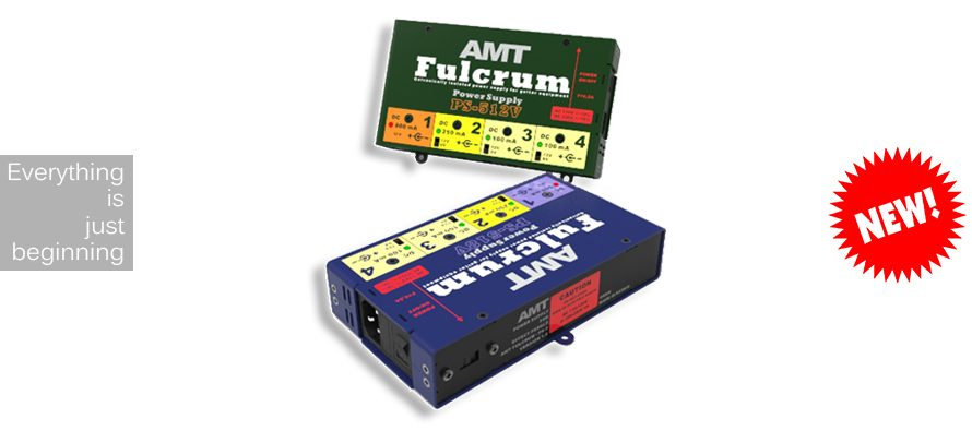 New 2017: AMT Fulcrum – linear power supply