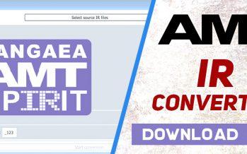 "Win&MAC application ""IR Converter"" for AMT Pangaea"