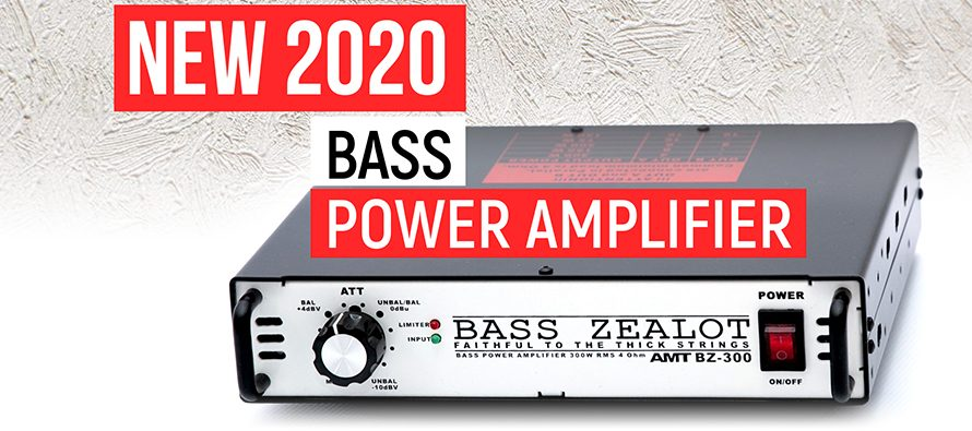 START OF SALES: AMT Bass ZEALOT BZ-300