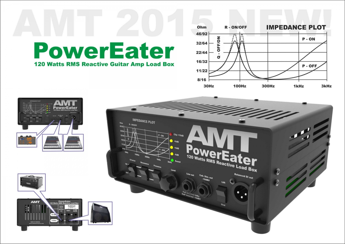 Amt Power Eater Pe 120 Load Box Amt Electronics Official